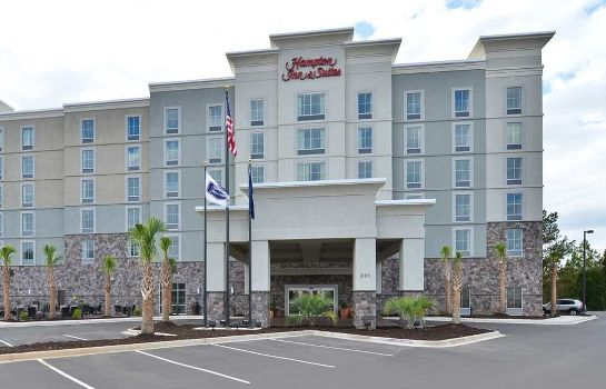 Außenansicht Hampton Inn - Suites Columbia-Southeast Ft Jackson SC