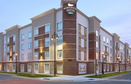 Exterior view Homewood Suites by Hilton Charlotte-Ayrsley NC