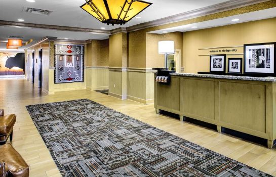 Hotelhalle Hampton Inn - Suites Dodge City KS