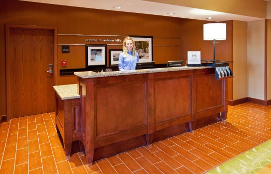 Hotelhalle Hampton Inn Detroit/Auburn Hills-North(Great Lakes Crossing)