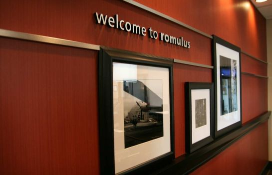 Hotelhalle Hampton Inn and Suites-Detroit-Airport-Romulus
