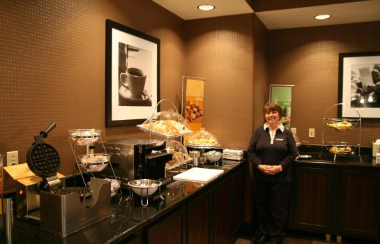 Restaurant Hampton Inn and Suites-Detroit-Airport-Romulus
