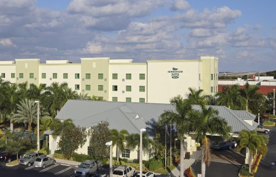 Exterior view Homewood Suites by Hilton FtLauderdale Airport-Cruise Port