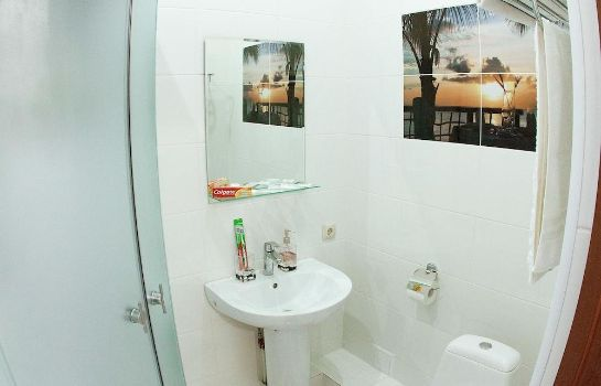 Bagno in camera Piramida Business Hotel