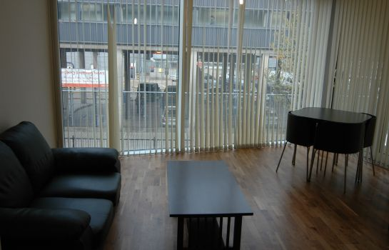 Vista all'interno Access Apartments Camden