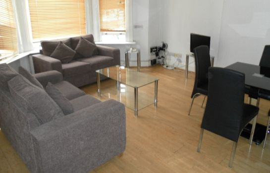 Vista interior Access Apartments Euston