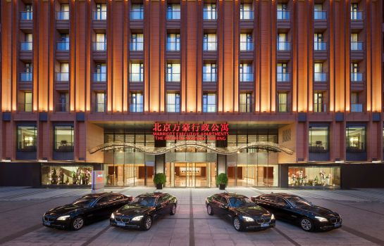 Exterior view The Imperial Mansion Beijing Marriott Executive Apartments