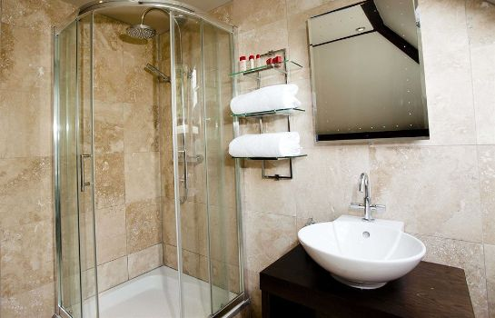 Bagno in camera Windfalls Boutique Hotel