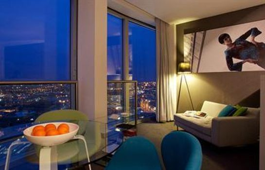 Chambre double (standard) Staying Cool at Rotunda Stylish Serviced Apartments
