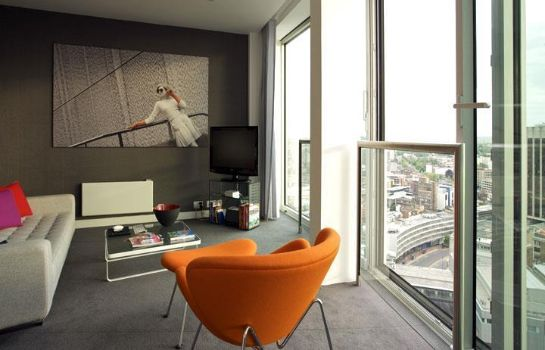 Chambre Staying Cool at Rotunda Stylish Serviced Apartments