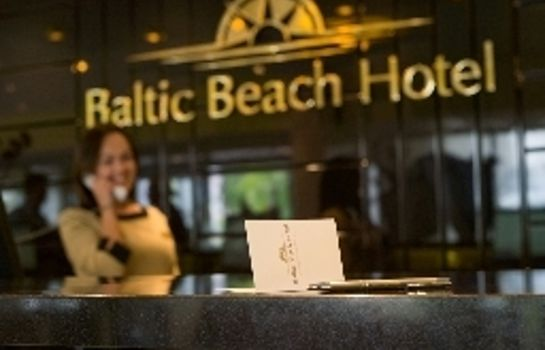 Empfang Baltic Beach Hotel Hotel & SPA Economy