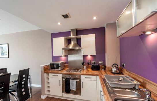 Chambre Hot-el-apartments Glasgow Central