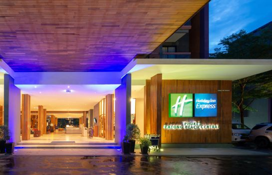 Außenansicht Holiday Inn Express PHUKET PATONG BEACH CENTRAL