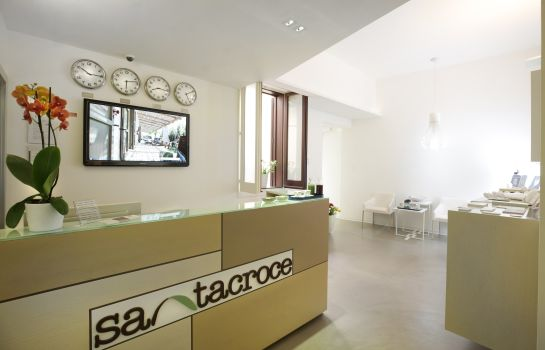 Empfang Santacroce Luxury Rooms