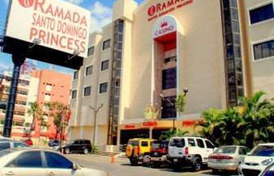 Exterior view RAMADA SANTO DOMINGO PRINCESS