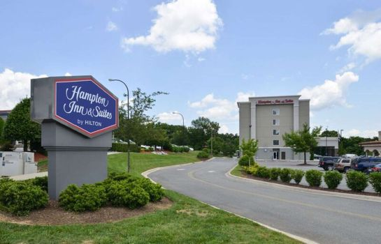 Vista exterior Hampton Inn - Suites Greensboro-Coliseum Area NC