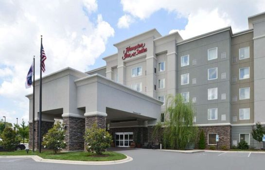 Außenansicht Hampton Inn - Suites Greensboro-Coliseum Area NC
