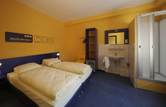 Double room (standard) Bed'nBudget Expo-Hostel