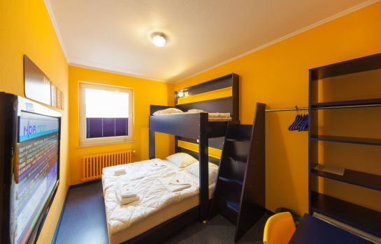 Dreibettzimmer Bed'nBudget City-Hostel
