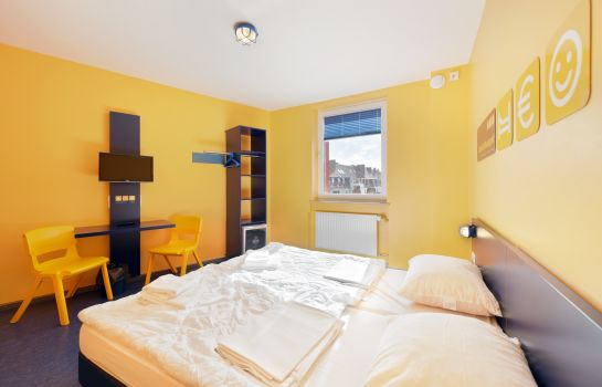 Chambre individuelle (standard) Bed'nBudget City-Hostel