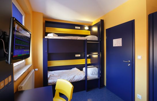 Doppelzimmer Standard Bed'nBudget City-Hostel
