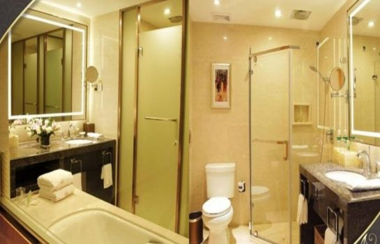 Bagno in camera Mingfa International Hotel