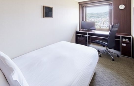 Chambre individuelle (standard) Hotel Sunroute Kyoto