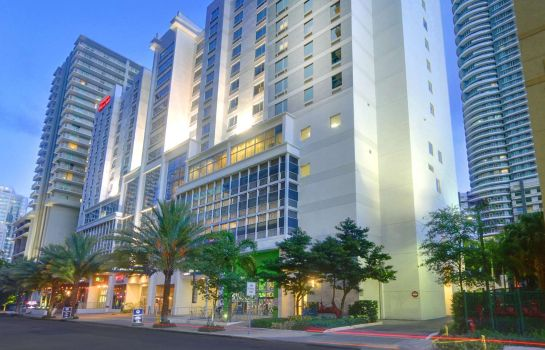 Außenansicht Hampton Inn - Suites Miami-Brickell-Downtown FL
