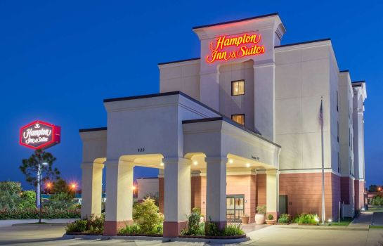Buitenaanzicht Hampton Inn & Suites Oklahoma City - South