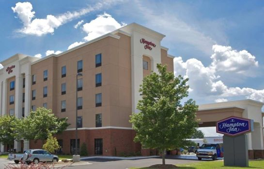 Buitenaanzicht Hampton Inn Greenville