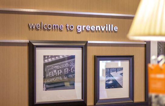 Hotelhalle Hampton Inn Greenville
