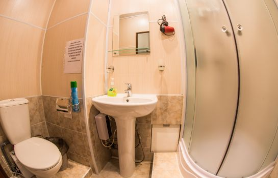 Badezimmer Mini-Hotel Old Moscow
