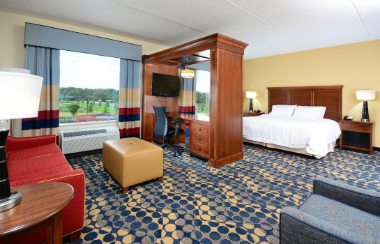 Zimmer Hampton Inn - Suites Durham-North I-85 NC