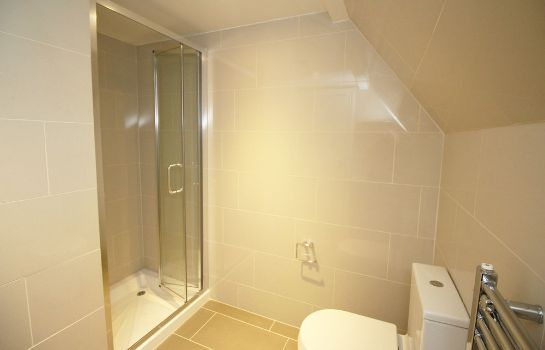 Bagno in camera Flexistay London Serviced Aparthotel