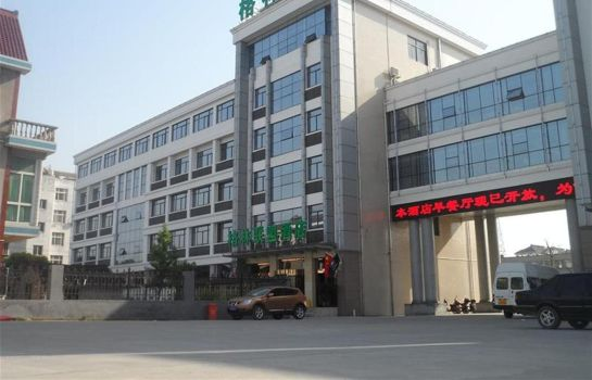 Vista exterior GreenTree Alliance Rugao Jiuhua Bus Station Hotel Domestic only