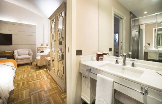 Badezimmer Firenze Number Nine Wellness Hotel