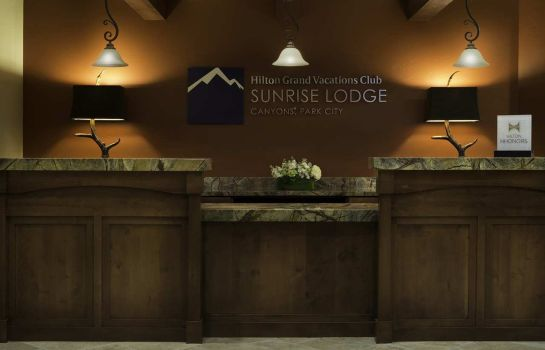 Hotelhalle Sunrise Lodge by Hilton Grand Vacations