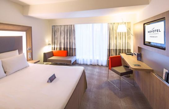 Double room (superior) Novotel Moscow City