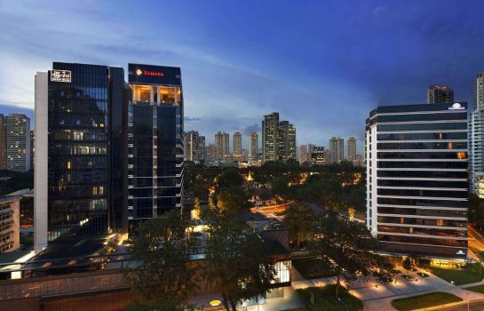 Exterior view Ramada by Wyndham Singapore At Zhongshan Park