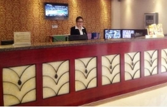 Reception GreenTree Inn Jiangning Southeast University Express Hotel Domestic only
