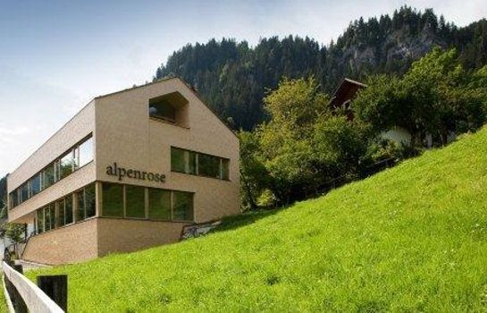 Exterior view Hotel Alpenrose Ebnit***