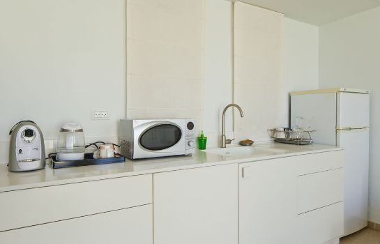 Kitchen in room Cityinn - Jaffa Apartments