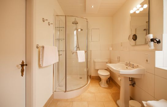 Bagno in camera Heinrichs B&B
