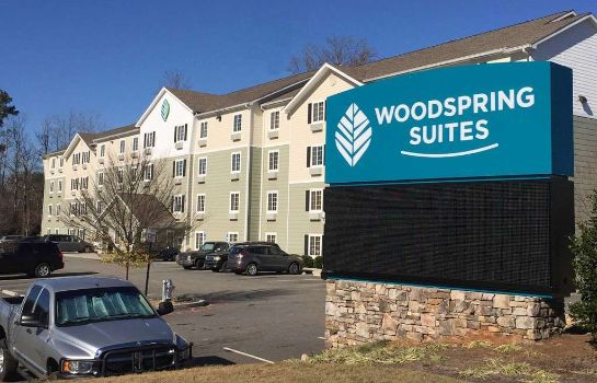 Vista exterior WoodSpring Suites Atlanta Alpharetta