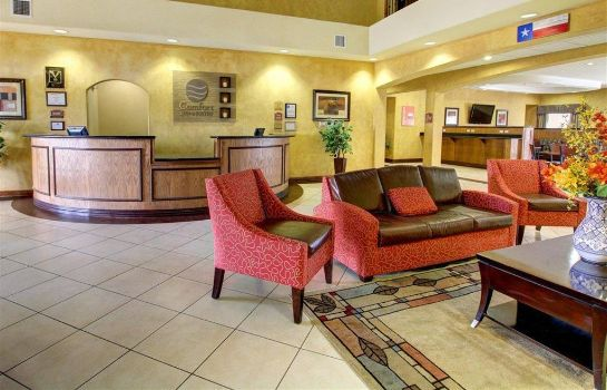 Hotelhalle Comfort Inn and Suites Alvarado