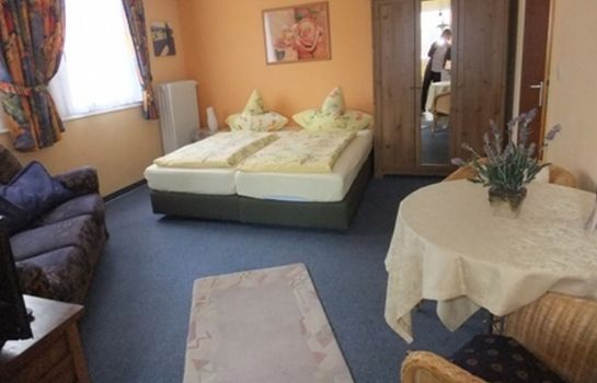 Chambre double (standard) Strandhof Möhnesee Hotel-Pension