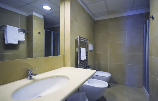Bagno in camera Rolling Hotel