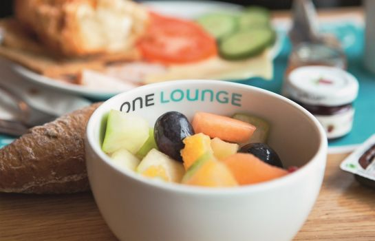 Ontbijtbuffet Motel One Magdeburg