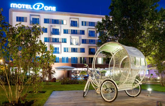 Exterior view Motel One Prater
