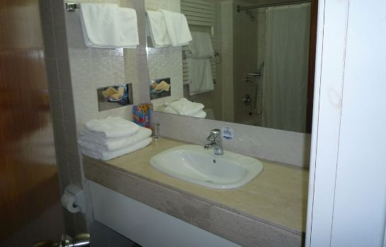 Bagno in camera Forest Park Hotel